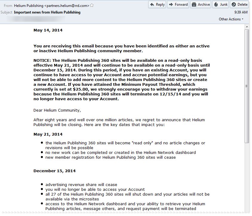 helium email notice